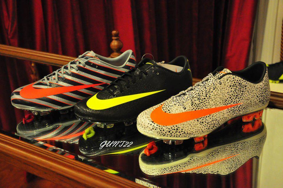 tacos de fútbol nike personalizados de vapor - Santillana ... 57d73bd710cb7