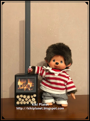kiki monchhichi fait main handmade meuble furniture miniature doll