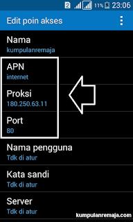 Edit Apn kArtu Telkomsel