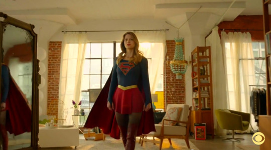 Kara Danvers Living Room Interiors