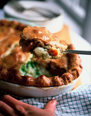 Ina Garten's Pot Pie: romantic recipes for valentine's day on hello lovely studio