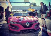 Robert Kubica Renault Vallelunga 6h di Roma