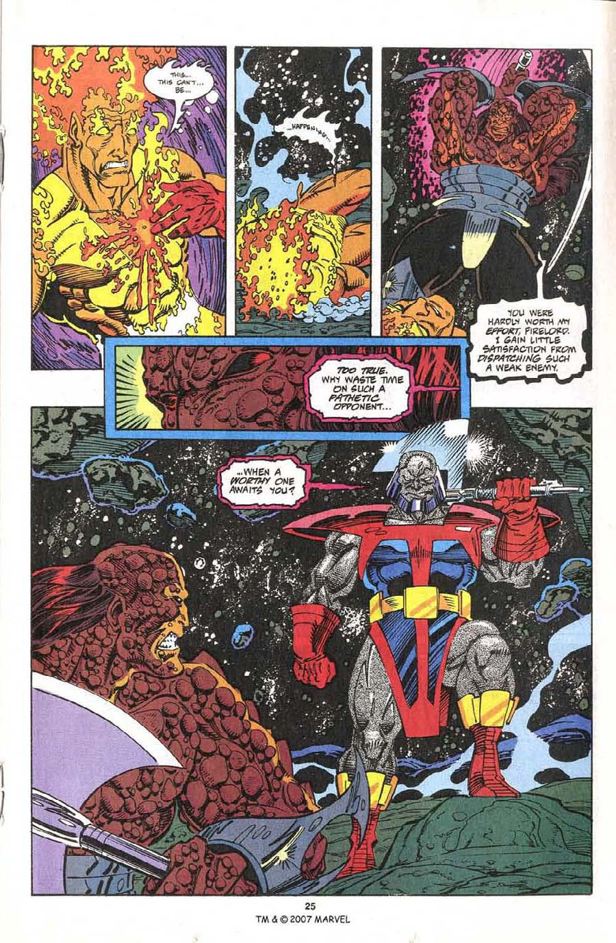Read online Silver Surfer (1987) comic -  Issue #75 - 27