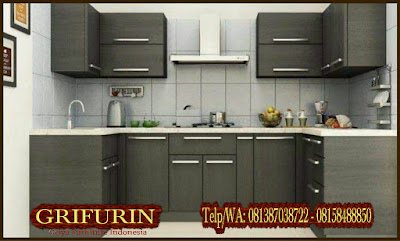 jasa pembuatan kitchen set minimalis murah