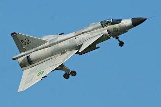 Saab 37 Viggen - Pesawat Interseptor dan Serang AU Swedia