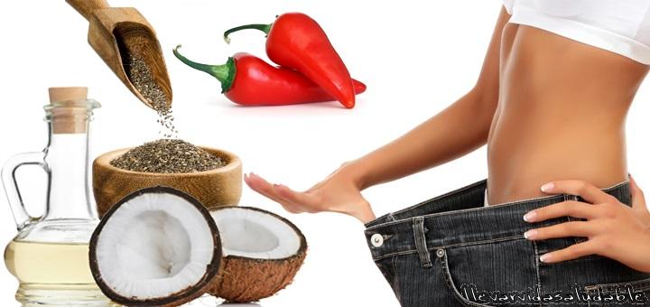 7 Alimentos que ayudan a bajar el peso