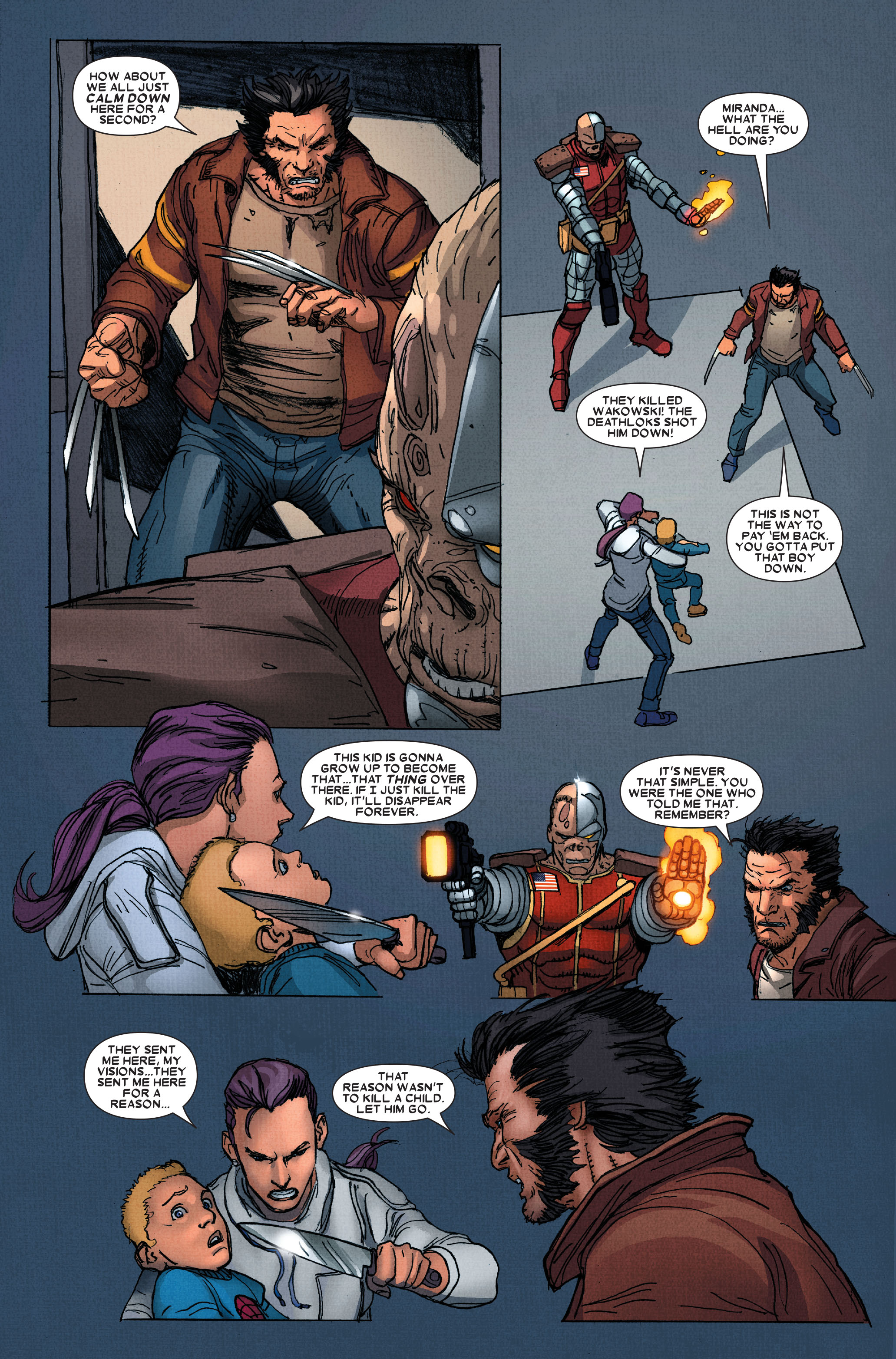 Read online Wolverine: Weapon X comic -  Issue #15 - 7