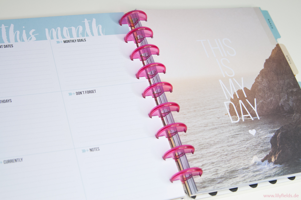 Happy Planner von me & my BIG ideas