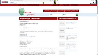 Webarchiv: obvz.de