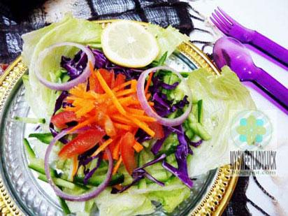 salad ungu