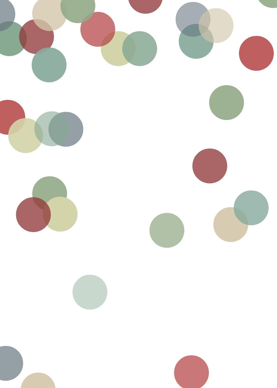 Stripes + Sweets: Polka Dot Background