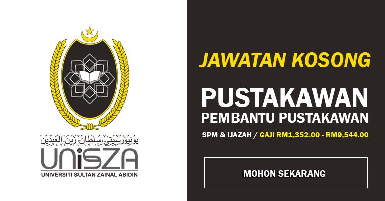 Jawatan Kosong di Universiti Sultan Zainal Abidin UniSZA