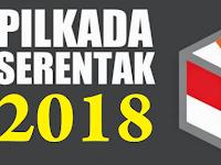 Pilkada Serentak 2018, ini 17 Provinsi yang Menggelar Pilgub