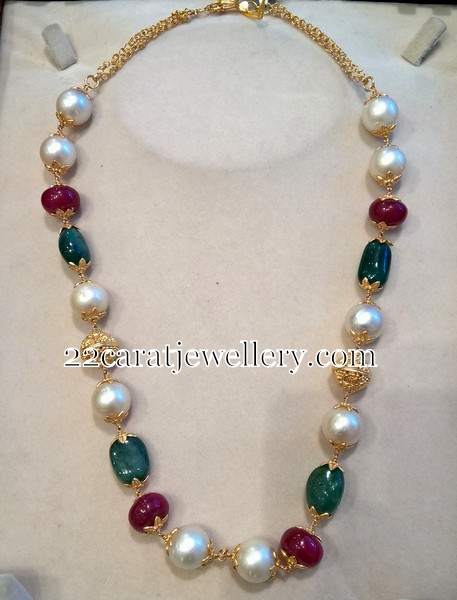 South Sea Pearls Set By Smj Jewellery Designs