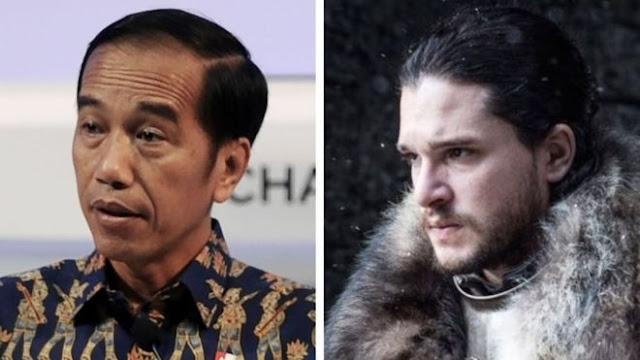 Walau Pidatonya Dipuji, dalam Game of Thrones Jokowi Bukan 'Jon Snow'