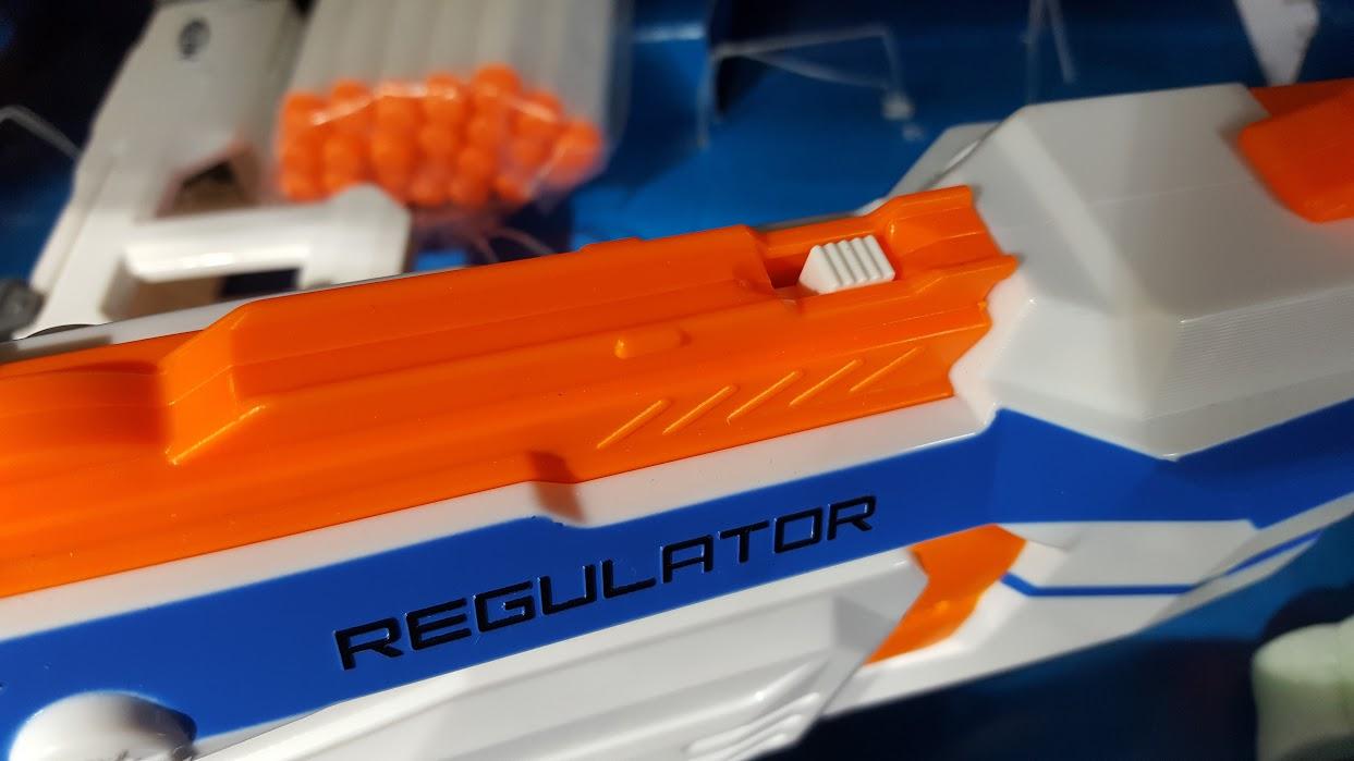 The Brick Castle: Nerf N-Strike Modulus Regulator Blaster