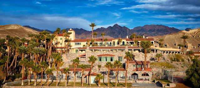 Hotel Furnace Creek Inn em Death Valley