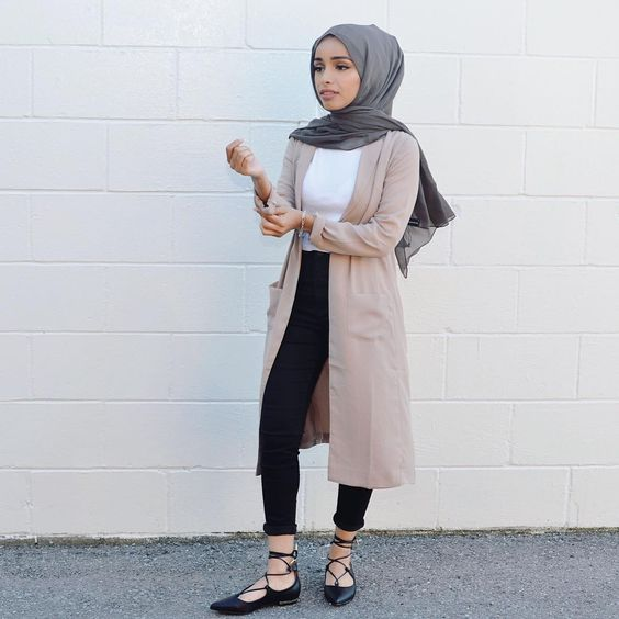 15 trend gaya fashion hijab remaja masa kini