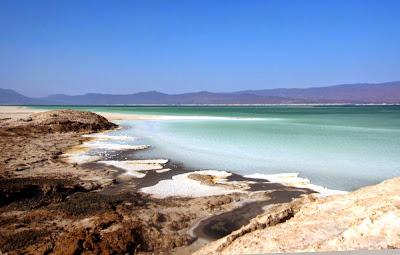 O lago mais salgado do mundo