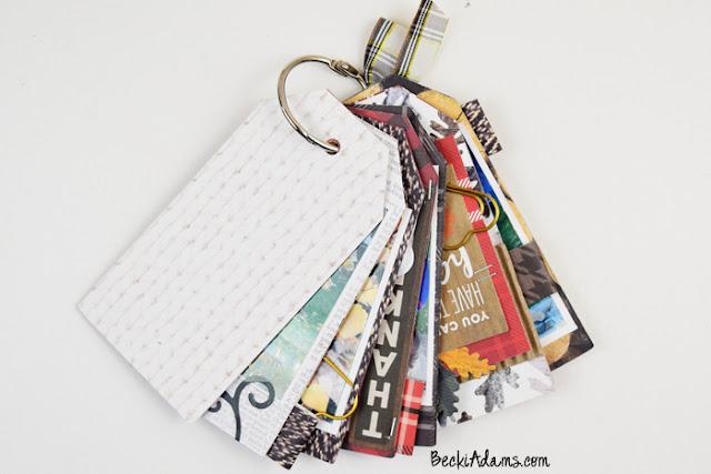 Fall Mini Album created by Becki Adams @jbckadams #spellbinders #minialbum #madewithpebbles #scrapbooking #memorykeeping