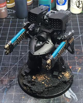Heresy Era Dark Angels Deredeo Dreadnought WIP - plasma