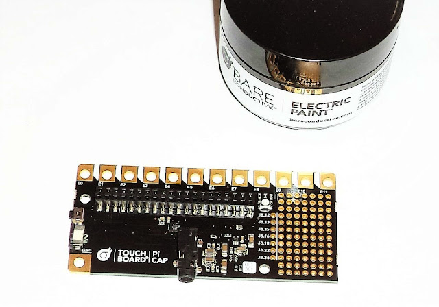 Add Precise Capacitive Touch To Your Raspberry Pi With Bare Conductive's Pi Cap HAT