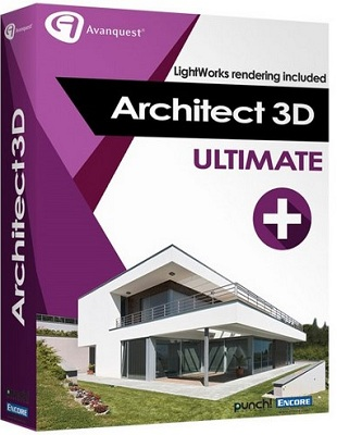Avanquest Architect 3D Ultimate Plus 2017 19.0.1.1001 poster box cover