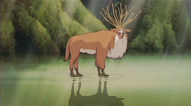 まるでシシガミ??森の王様ヘラジカかがでかすぎる【n】 もののけ姫 ムース エルク