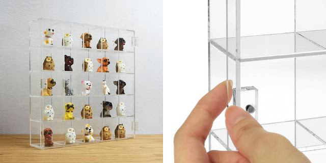 Shop for A Mountable 25 Compartments Display Case Cabinet Stand