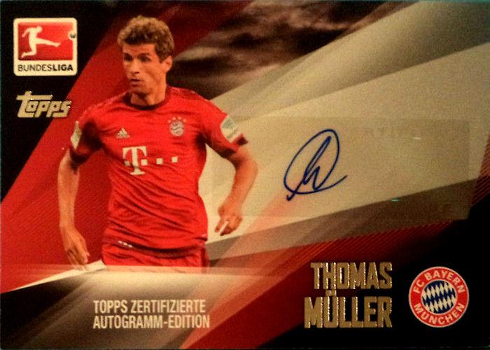 Topps Bundesliga Chrome 15//16 175 Kingsley Coman