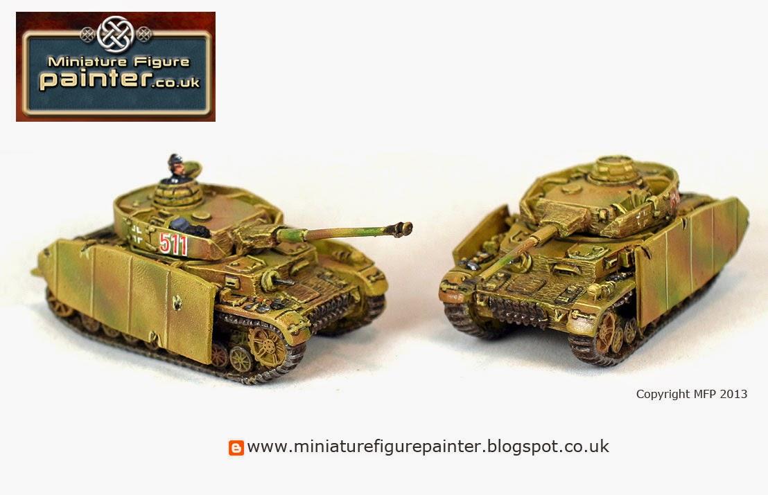 Battlefront 15mm Panzer IVH Platoon, Panzerkompanie