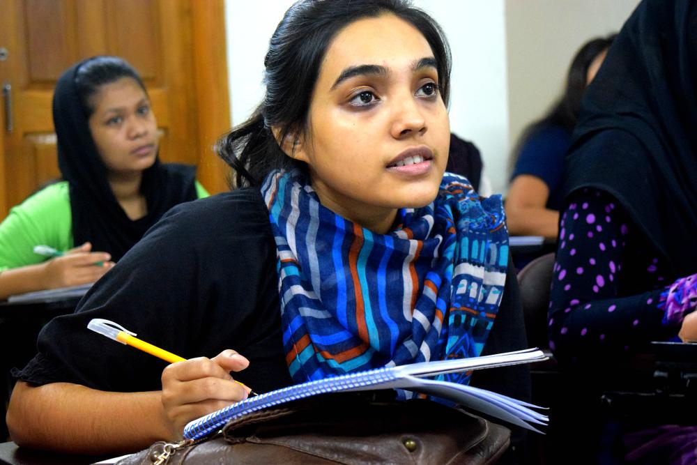 Pathways for Promise through Asian University for Women