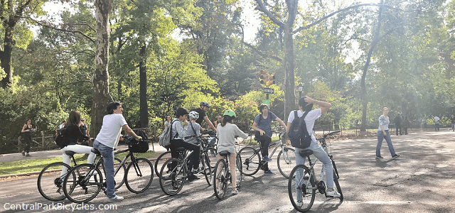 Central Park Bicycle Tours