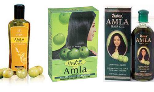 óleo de Amla nos cabelos (Amla Hair Oil)