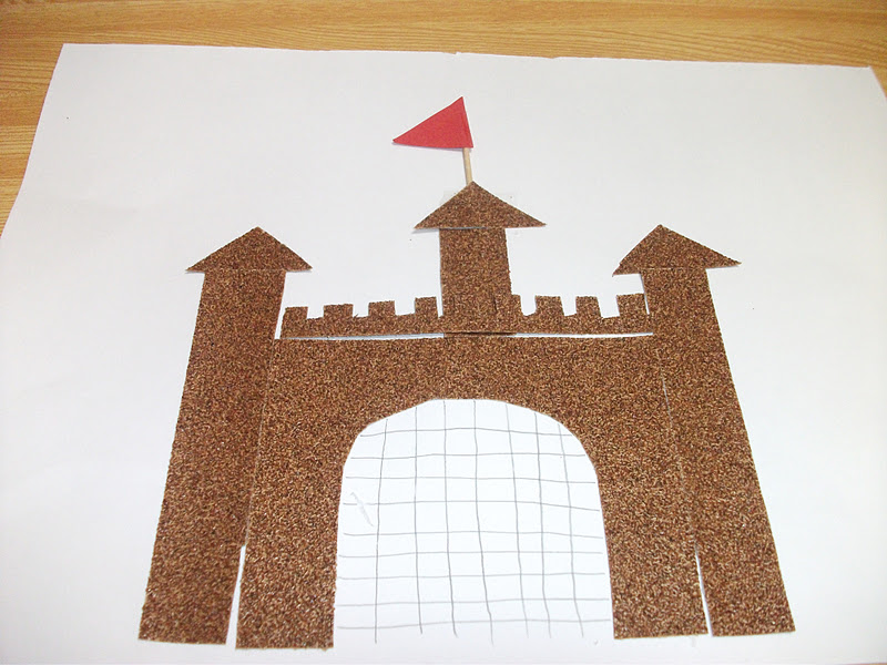 Preschool Castle Craft