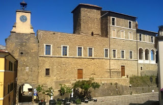 The Ducal Palace in modern Ischia di Castro