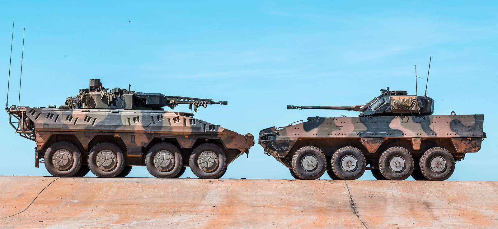 Below The Turret Ring: The market for wheeled 8x8 is not