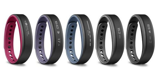 Garmin Vivosmart activity tracking bracelet announced