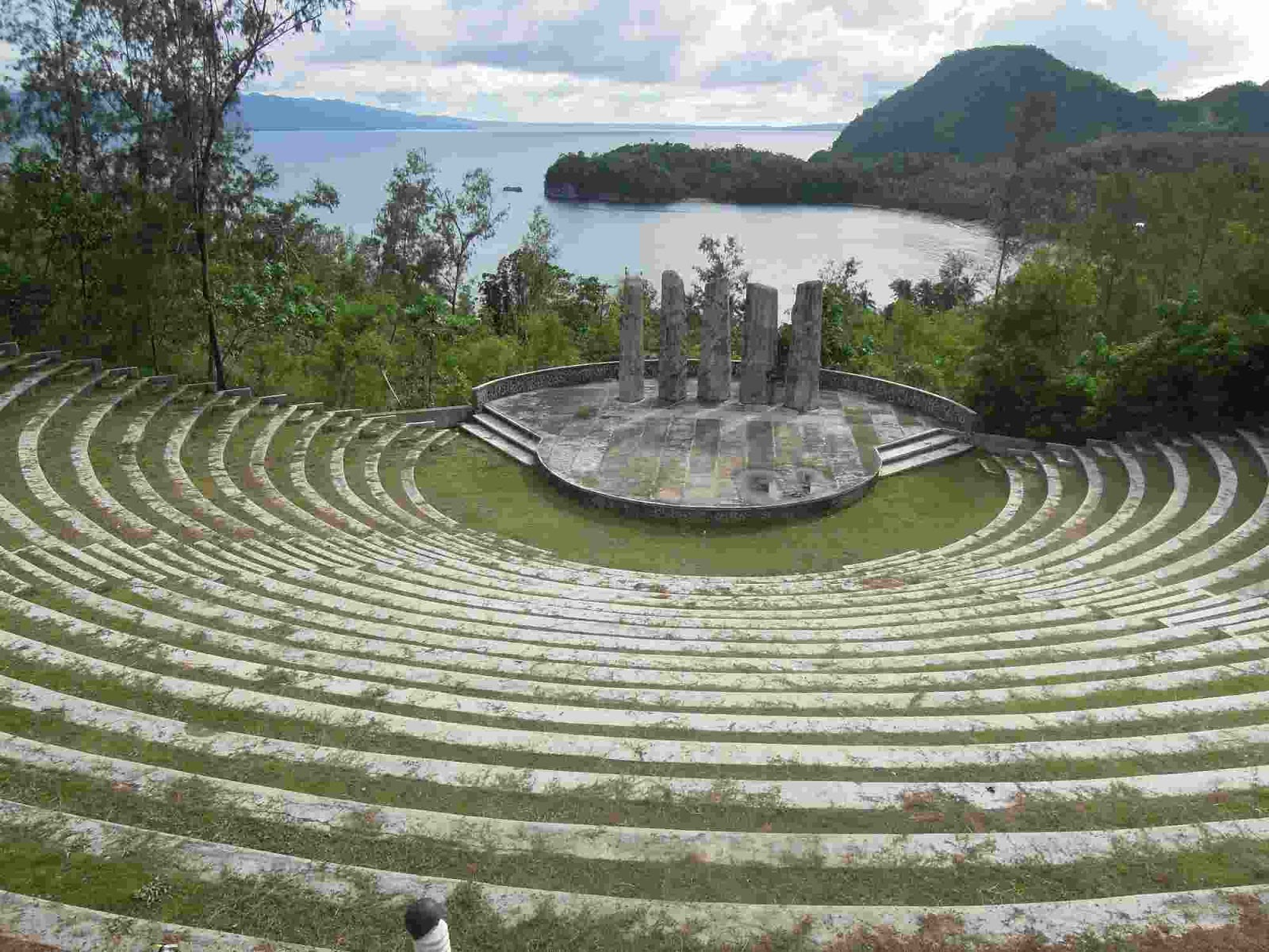 Amphitheater at Cagraray Eco Energy Park in Misibis Bay