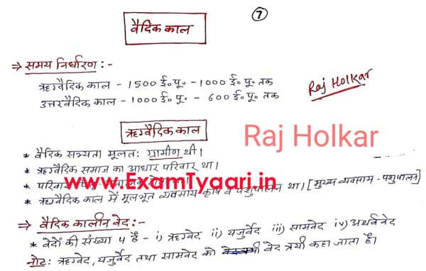 Highly Important Ancient Indian History (प्राचीन भारतीय इतिहास) Notes [Download PDF] - Exam Tyaari