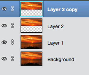 how to make a selected layer bigger photoshop