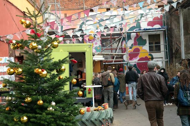 vegan kerstmarkt Leipzig Feinkost