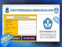 Aplikasi Cetak Surat Keterangan Kelaukan Baik ( SKKB ) Siswa