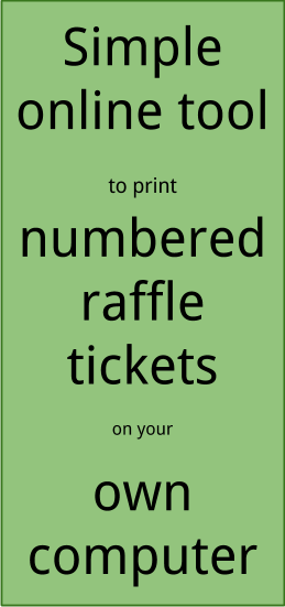 Step 6: Complete Your Merge To Generate A Document With Lots Of Tickets,  All With Different Numbers  Numbering Tickets In Word