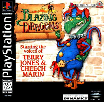 descargar blazing dragons psx mega