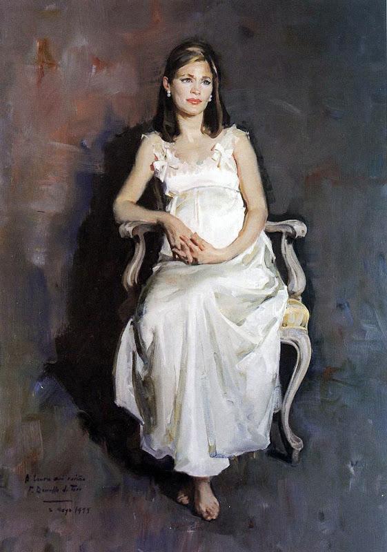 Maternidad, Félix Revello de Toro, Pintor español, Retratos de Félix Revello de Toro, Revello de Toro