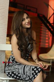 Telugu Actress Angela Krislinzki Latest Pos in Short Dress  0154.JPG