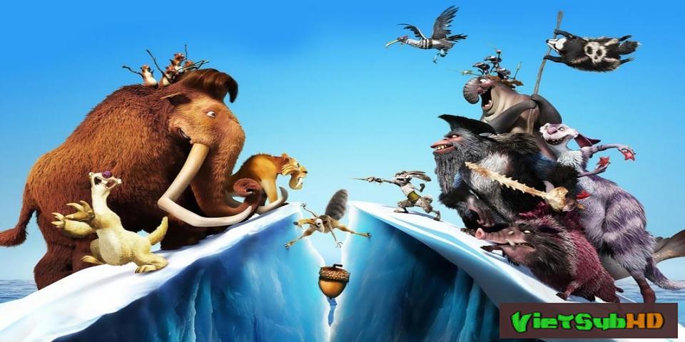 Phim Kỷ Băng Hà 4: Lục Địa Trôi Dạt VietSub HD | Ice Age: Continental Drift 2012