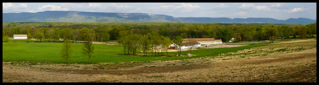One more view of the Trapps. It is very hard to resist these panoramas.