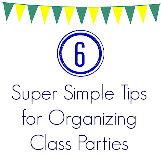 Simple Tips for Organizing Class Parties || The Chirping Moms